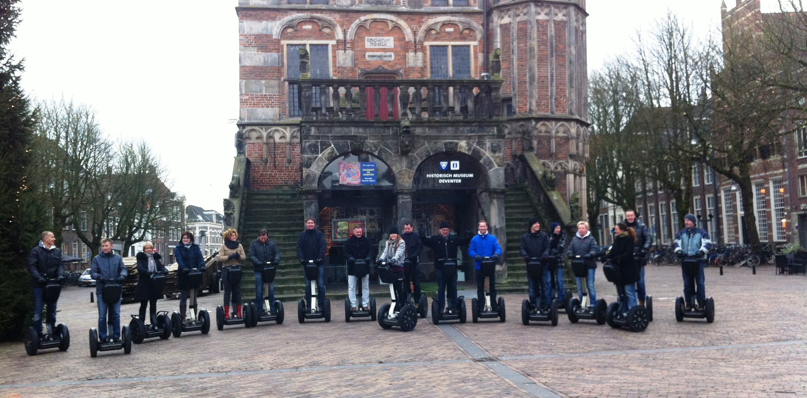 Segway tour Deventer, segway rijden door Deventer