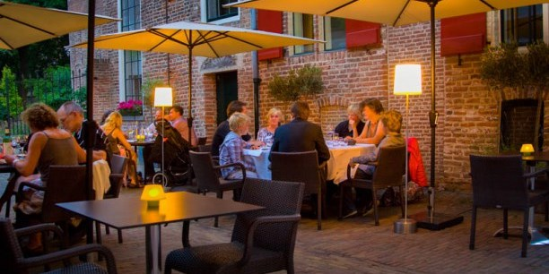 Theater en restaurant Bouwkunde