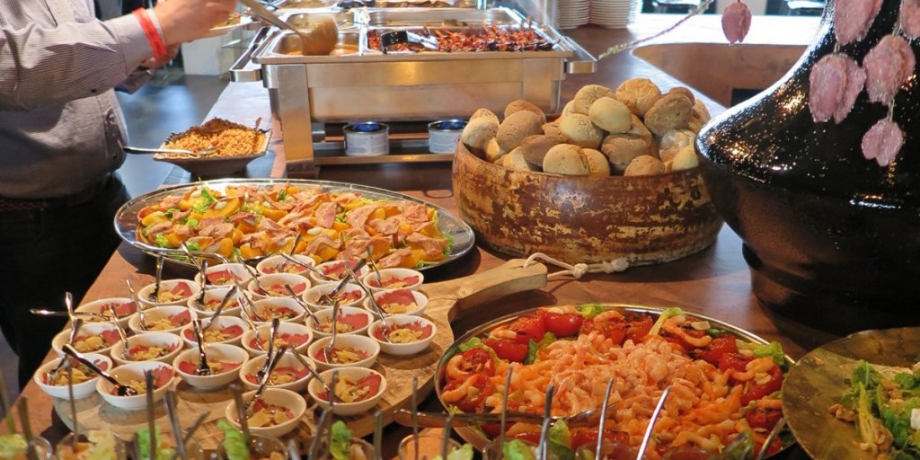 Catering - Goed verzorgd buffet
